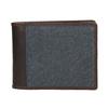 Pánská peněženka v kombinaci kůže a textilu bata, modrá, 949-9603 - 26