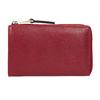 Červená dámská kožená peněženka bata, červená, 944-5602 - 16