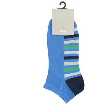 Kotníkové ponožky modré s pruhy bata, modrá, 919-9803 - 13