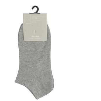 Dámské kotníkové ponožky šedé bata, šedá, 919-2813 - 13