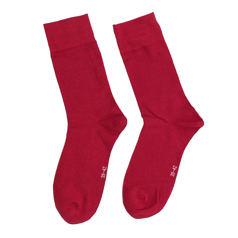 Baťa Červené pánské ponožky vysoké - Pánské  d61bdb9be44
