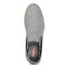 Šedé Slip-on boty pánské bata-red-label, šedá, 839-2602 - 17