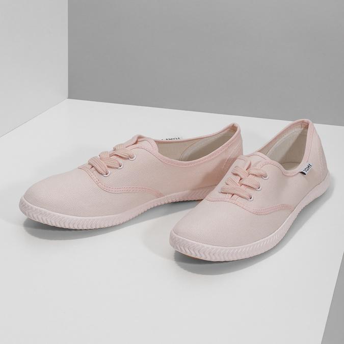 Růžové dámské tenisky tomy-takkies, růžová, 589-5180 - 16