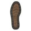 Kožené pánské ležérní polobotky s prošitím bata, hnědá, 826-4917 - 18