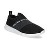 Černé nazouvací tenisky adidas, černá, 509-6565 - 13