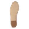 Kožené baleríny s výraznou mašlí hogl, růžová, 526-5051 - 18