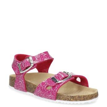 Dívčí korkové sandály růžové mini-b 9c646fed7ac