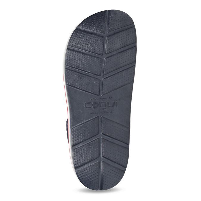 Dámské sandály typu Clogs coqui, modrá, 572-9611 - 18