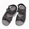 Pánské kožené sandály na suchý zip černé weinbrenner, černá, 866-6635 - 16