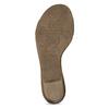 Bílé kožené sandály šíře G gabor, bílá, 666-1338 - 18