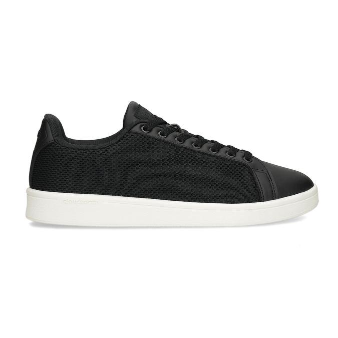 Černé pánské tenisky se síťovinou adidas, černá, 809-6395 - 19