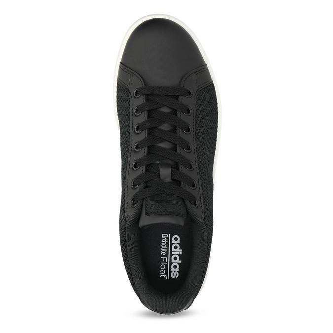 Černé pánské tenisky se síťovinou adidas, černá, 809-6395 - 17