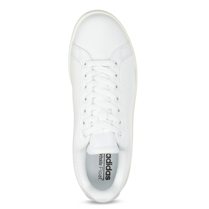 Bílé pánské tenisky se síťovinou adidas, bílá, 809-1395 - 17