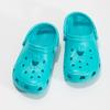 Tyrkysové dětské sandály Clogs coqui, tyrkysová, 372-9605 - 16