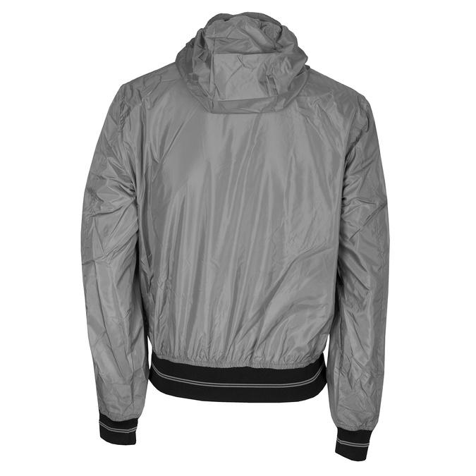 Šedá pánská bunda s kapucí bata, šedá, 979-2120 - 26