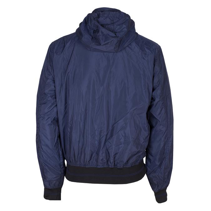 Modrá pánská bunda s kapucí bata, modrá, 979-9220 - 26