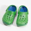 Zelené dětské sandály typu Clogs coqui, zelená, 372-7656 - 16