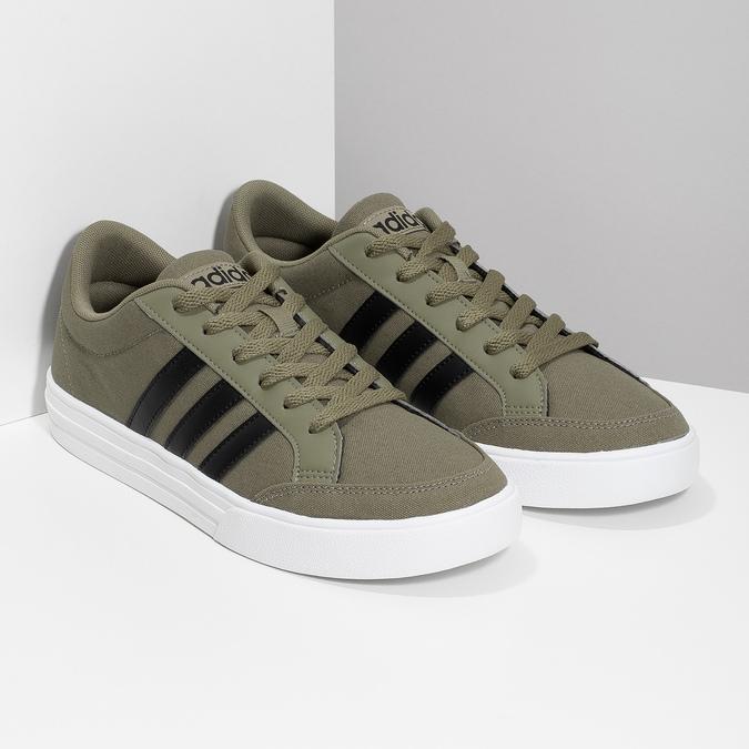 Pánské khaki tenisky adidas, khaki, 889-7235 - 26