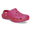 Růžové dámské sandály typu Clogs coqui, růžová, 572-5656 - 13