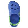 Modré dětské sandály se žabičkou coqui, modrá, 272-9650 - 17