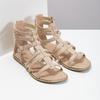 Béžové dámské sandály Gladiátorky bata, 561-8620 - 26