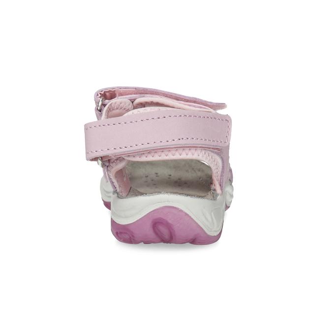 Dívčí kožené sandály v Outdoor stylu weinbrenner, růžová, 366-5606 - 15