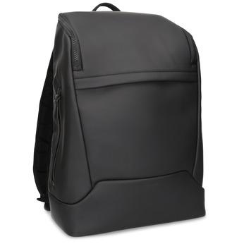 Minimalistický černý batoh vagabond, černá, 961-6049 - 13