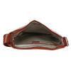 Kožená kabelka se širokým popruhem hnědá vagabond, hnědá, 966-4066 - 15