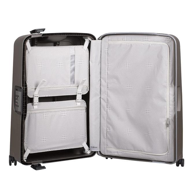 Černý kufr na kolečkách samsonite, hnědá, 960-4612 - 17