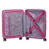 Růžový skořepinový kufr american-tourister, růžová, 960-5615 - 17