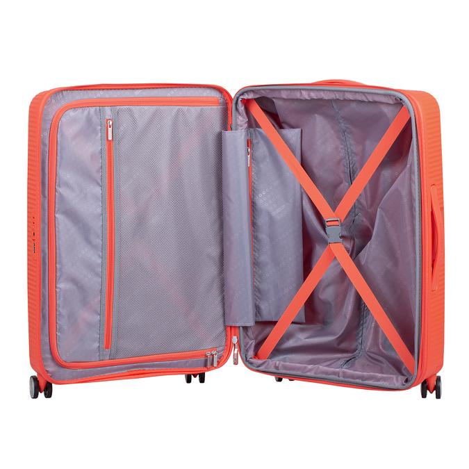 Oranžový kufr na kolečkách american-tourister, oranžová, 960-5614 - 17
