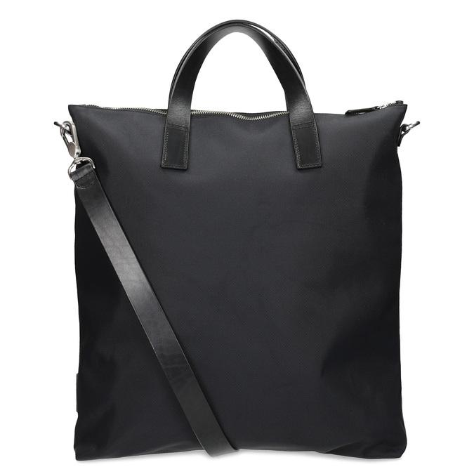 Černá kabelka s krátkými uchy vagabond, černá, 969-6081 - 16