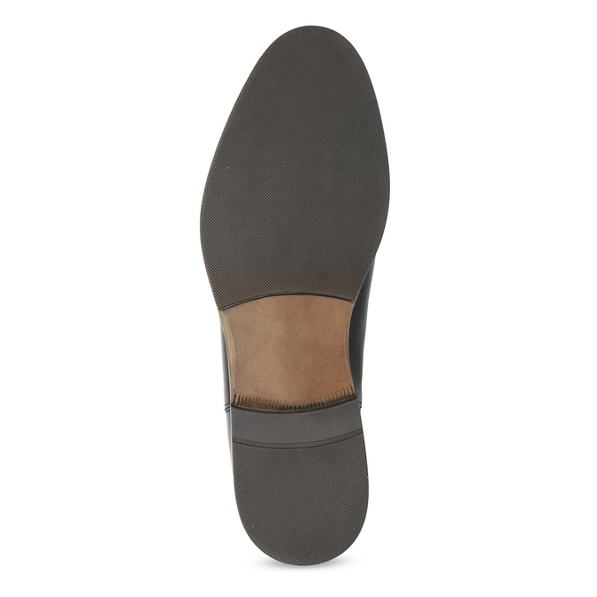 Dámská kožená Chelsea obuv bata, černá, 594-9636 - 18