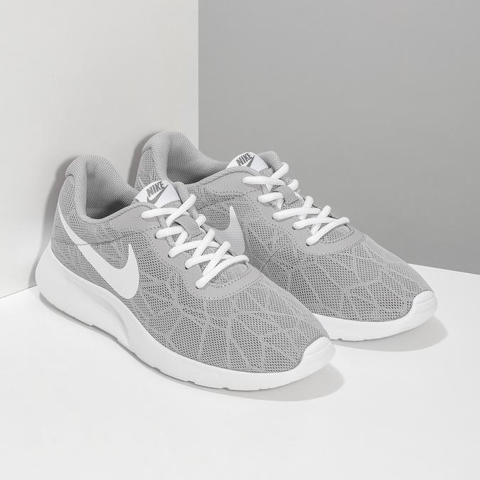 Dámské šedé tenisky nike, šedá, 509-2105 - 26