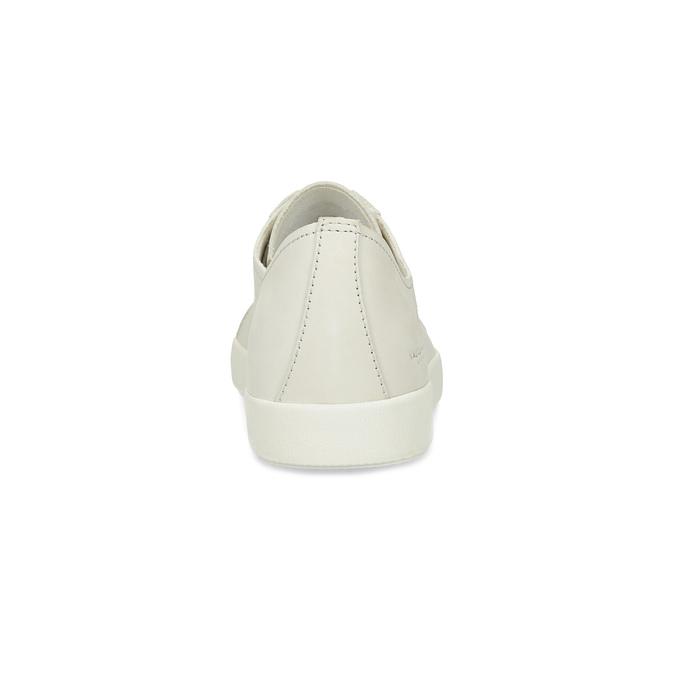 Pánské kožené tenisky světle béžové vagabond, bílá, 826-1020 - 15