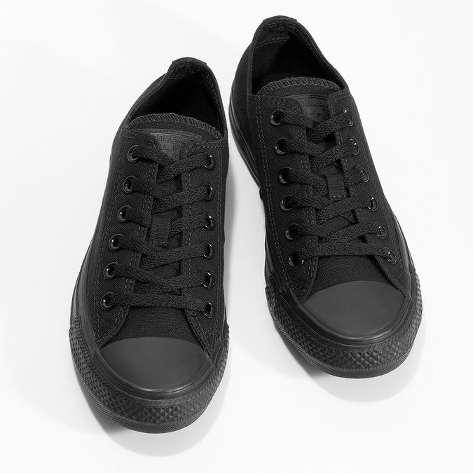 Černé plátěné tenisky dámské converse, černá, 589-6179 - 16