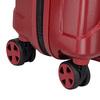 Červený skořepinový kufr na kolečkách malý roncato, červená, 960-5738 - 16