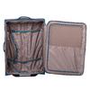 Tyrkysový textilní kufr na kolečkách roncato, modrá, 969-9720 - 17