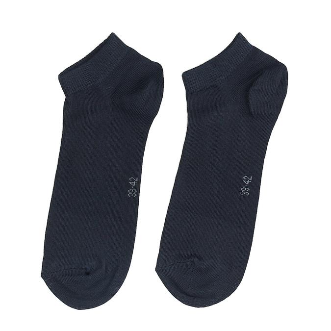 Pánské bavlněné nízké ponožky černé bellinda, modrá, 919-9817 - 26
