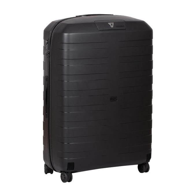 Skořepinový kufr černý velký roncato, černá, 960-9726 - 13