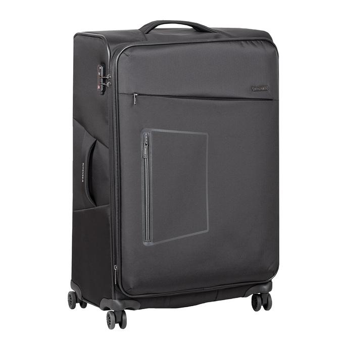 Velký textilní kufr na kolečkách roncato, černá, 969-6709 - 13