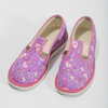 Růžové dětské přezůvky se vzorem bata, růžová, 279-5129 - 16
