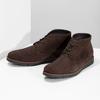 Pánská kotníčková kožená obuv hnědá flexible, hnědá, 823-4632 - 16