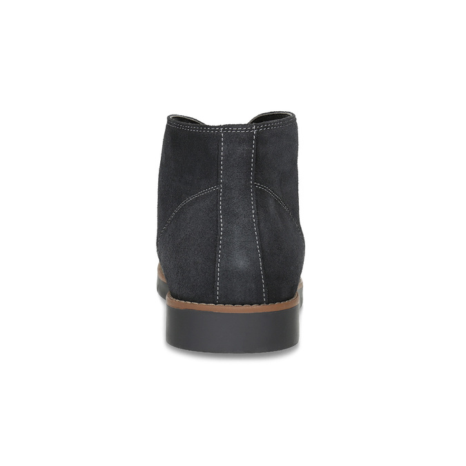 Pánská kotníčková kožená obuv modrá flexible, modrá, 823-2632 - 15