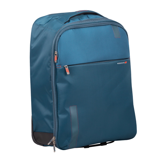 Batoh a kufřík v jednom roncato, modrá, 969-9724 - 13