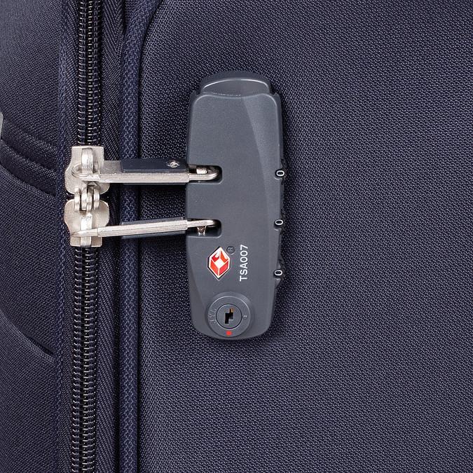 Příruční zavazadlo na kolečkách samsonite, modrá, 969-9618 - 15