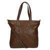 Dámská kabelka s asymetrickým zipem bata, hnědá, 961-3847 - 16