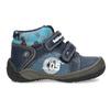 Dětské kotníkové boty na suché zipy modré bubblegummers, modrá, 111-9628 - 19