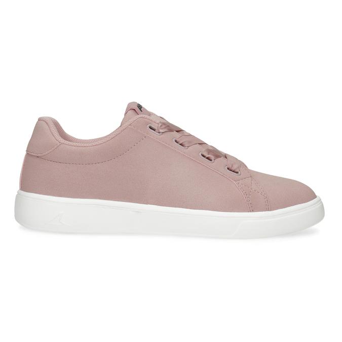 Růžové dámské tenisky se saténovými tkaničkami power, růžová, 501-5169 - 19