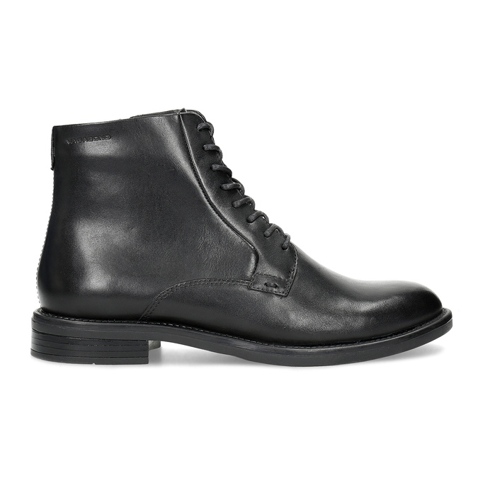Kožená kotníčková dámská obuv vagabond, černá, 524-6010 - 19